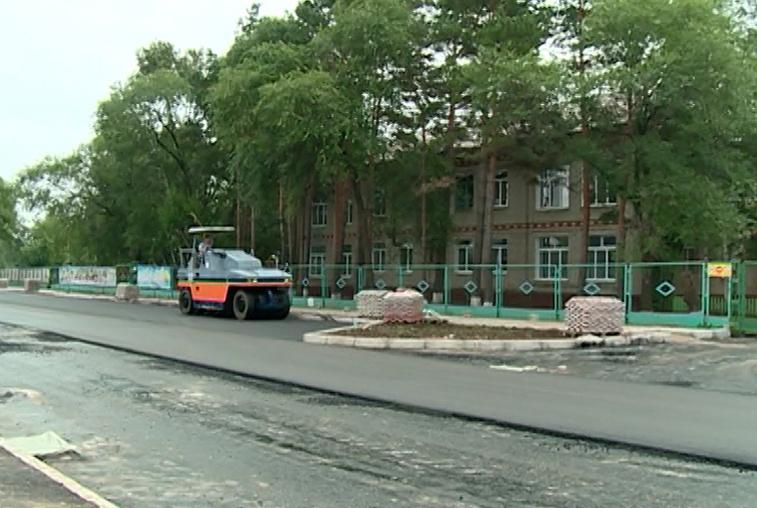 План по ремонту дорог в Благовещенске выполнен наполовину