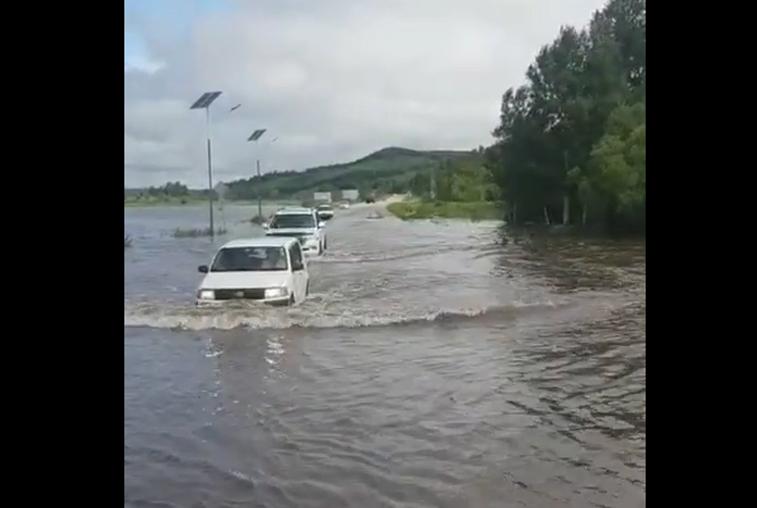 В трех районах Приамурья ввели режим ЧС из-за паводка