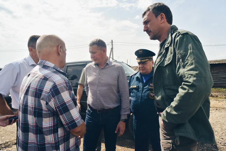 Врио губернатора Василий Орлов: «Все пострадавшие от паводка получат компенсации»