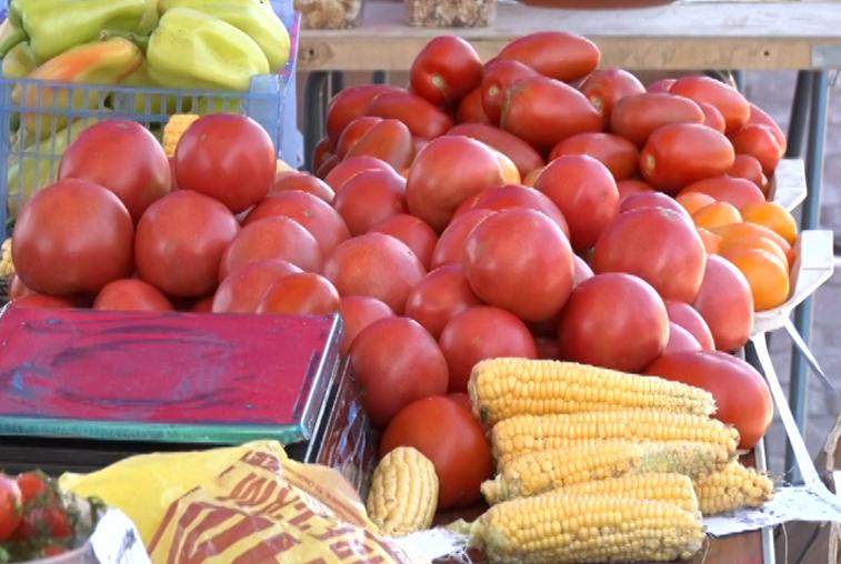 Цена овощей на сельхозярмарке в Благовещенске осталась прежней