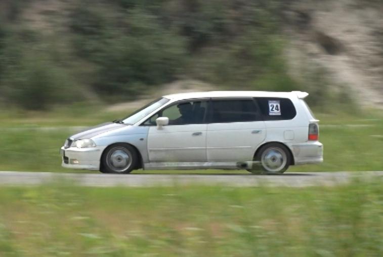 «Жигули» против «Хонды»: автогонки в режиме «Атака времени» прошли в Благовещенске