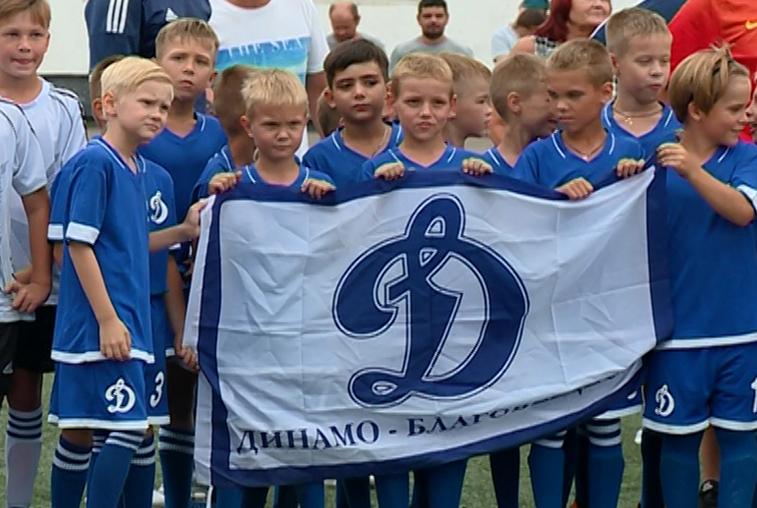 Юные амурские футболисты лидировали в международном турнире