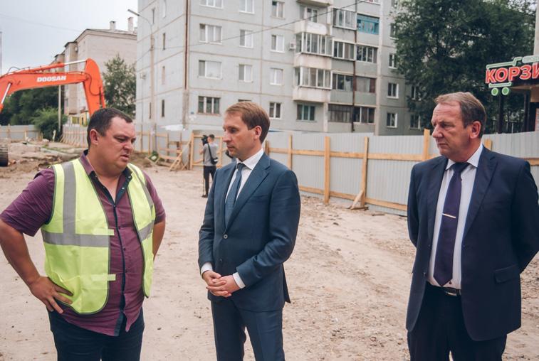 Строящиеся объекты в Свободном посетил глава Минвостокразвития