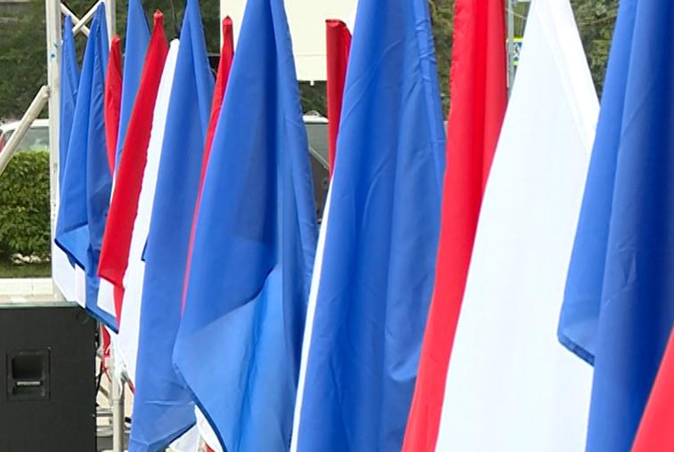 В Приамурье организовали патриотические акции в честь Дня флага