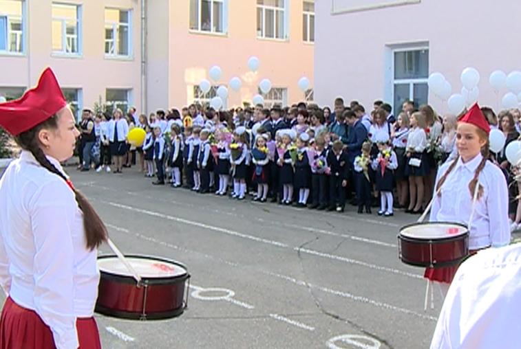 Десять с половиной тысяч амурских первоклассников пошли в школу
