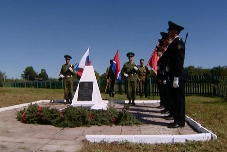 Вахту памяти в честь павших 73 года назад пограничников провели в Иннокентьевке