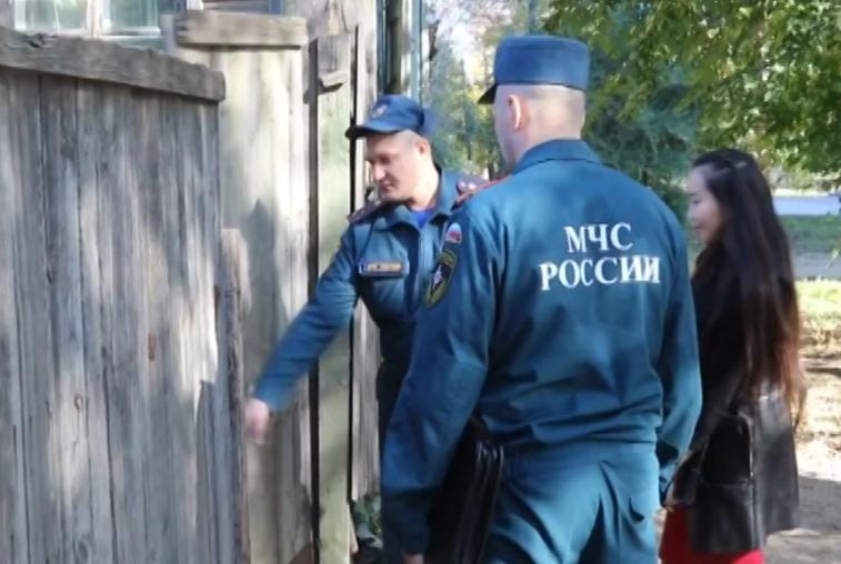 Противопожарные рейды по частному сектору Приамурья проводит МЧС