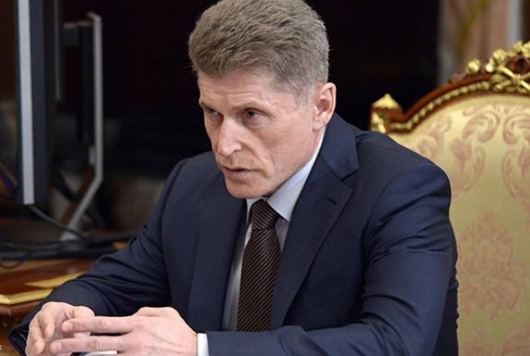 Олег Кожемяко будет временно исполнять обязанности губернатора Приморского края