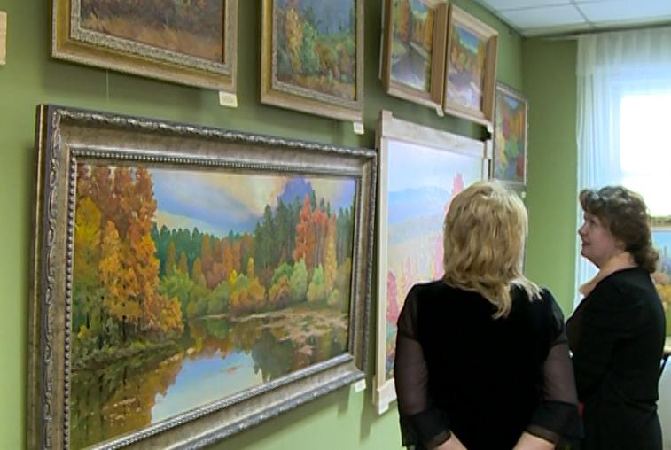 Выставка работ художника Юрия Цепляева открылась в Благовещенске
