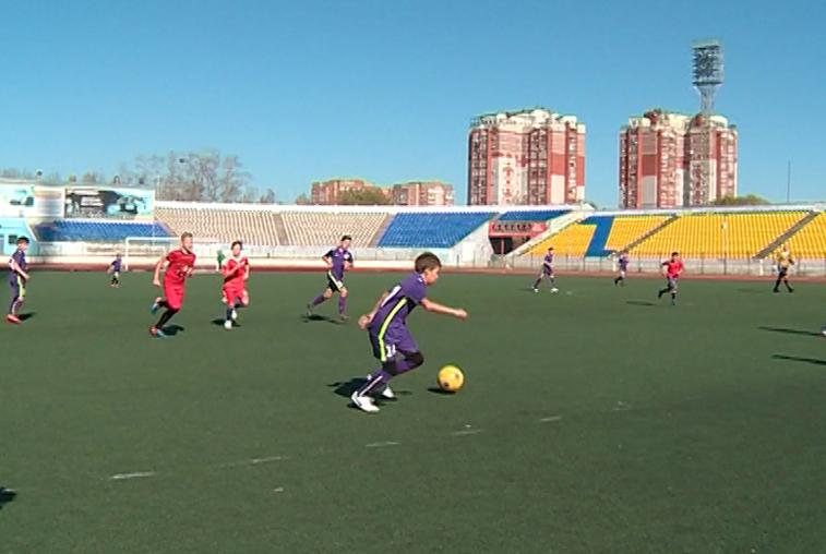 Областное первенство по футболу среди детей стартовало в Благовещенске