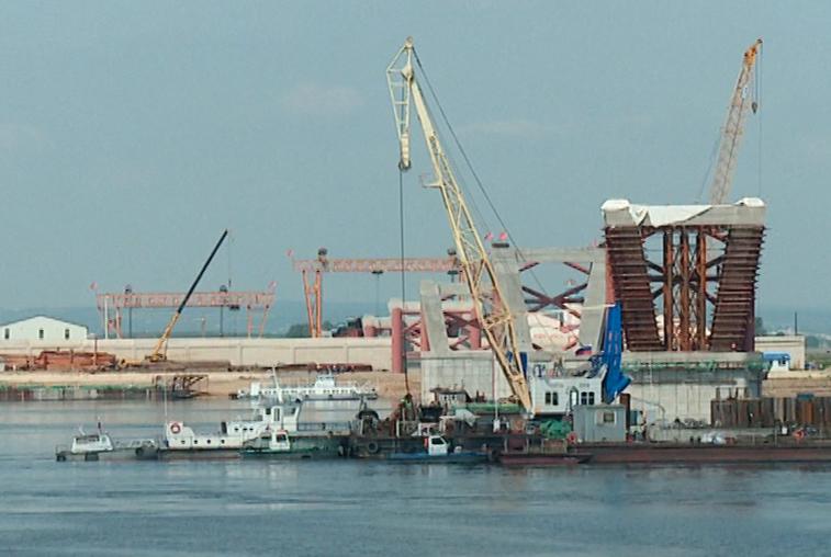 Площадки под строительство пункта пропуска у моста через Амур готовы