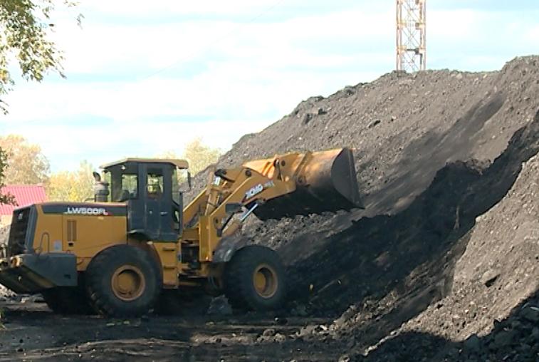 Амурские коммунальщики перевыполнили план по запасам угля