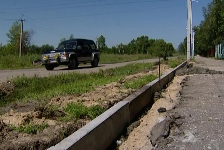 Работы по программе дорожной модернизации прошли в девяти районах Приамурья