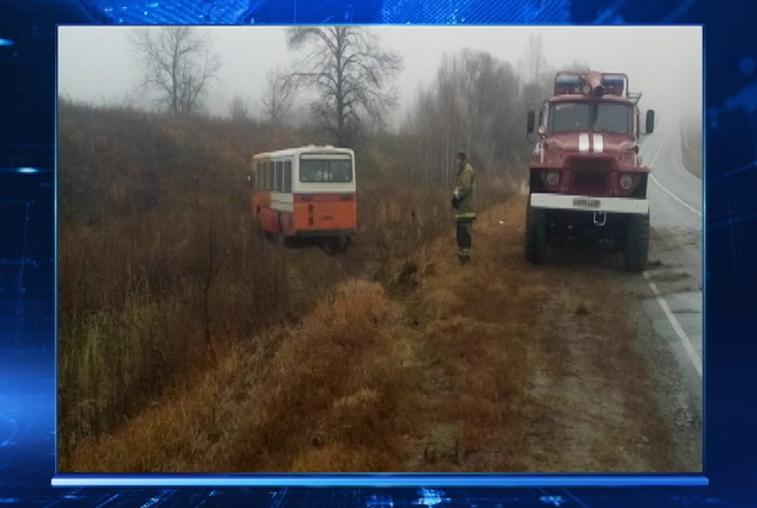 Рейсовый автобус попал в ДТП по пути из Райчихинска в Бурею