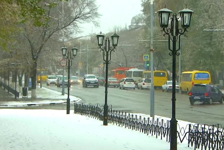Циклон принесет в Приамурье мокрый снег и сильный ветер