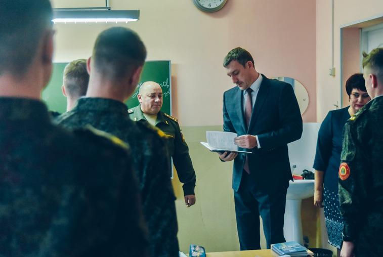 Василий Орлов предложил Амурскому кадетскому корпусу теснее сотрудничать с ДВОКУ