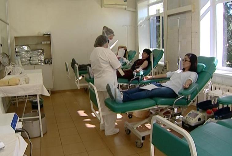В Амурском медицинском колледже проходит День донора