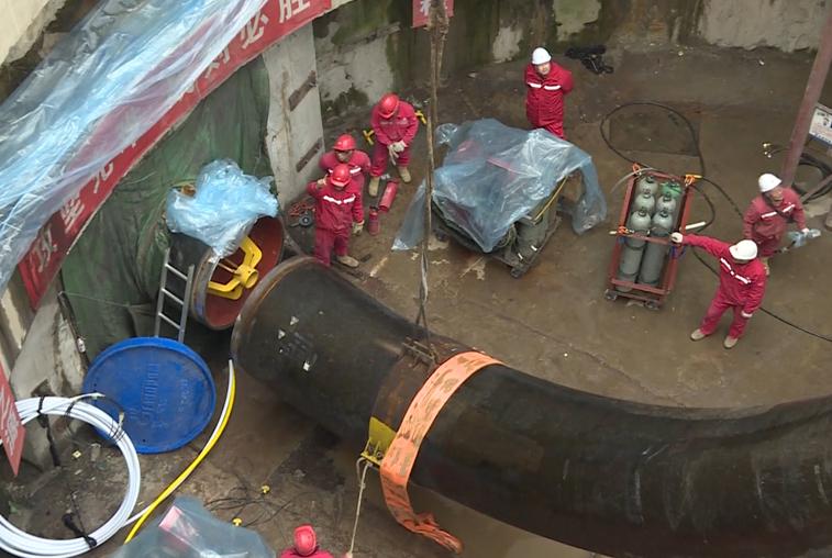 Строительство подводной части газопровода из России в Китай завершено раньше срока