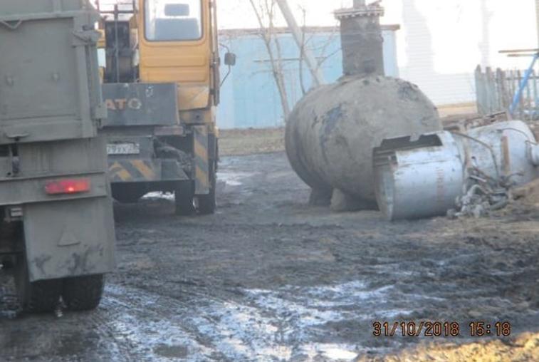 Жители Пояркова пожаловались на сильный запах газа