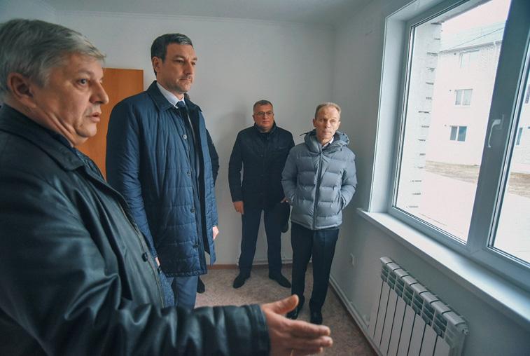 В Белогорске дома переселенцев переведут на более безопасную систему отопления