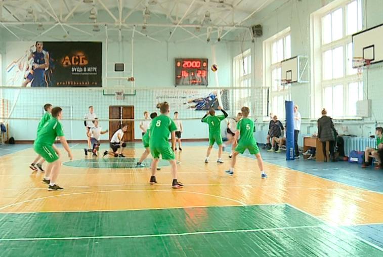 Волейболисты спортшколы олимпийского резерва победили на областных соревнованиях