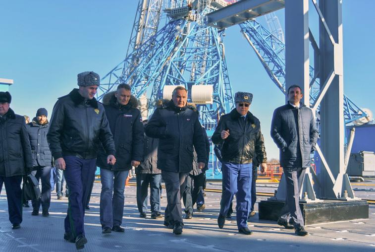 Возведение стартового комплекса для «Ангары» на Восточном проинспектировала комиссия