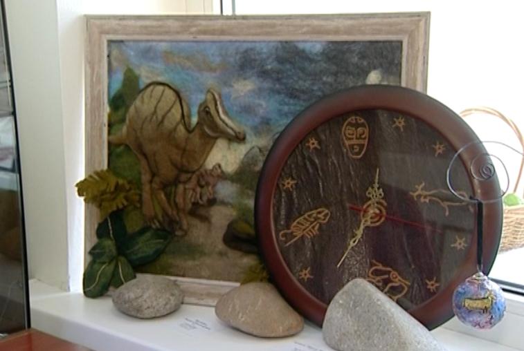 Выставка «Приамурью 160» открылась в благовещенском Доме ремесел