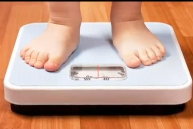 Количество детей с лишним весом ежегодно растет