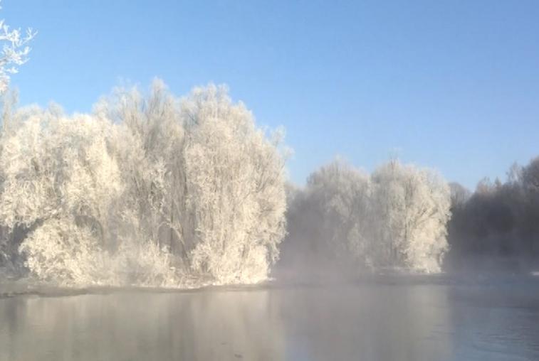 Волшебные пейзажи в провинции Хэйлунцзян привлекают туристов