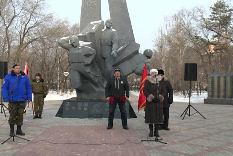 В Приамурье вспоминают погибших на Северном Кавказе