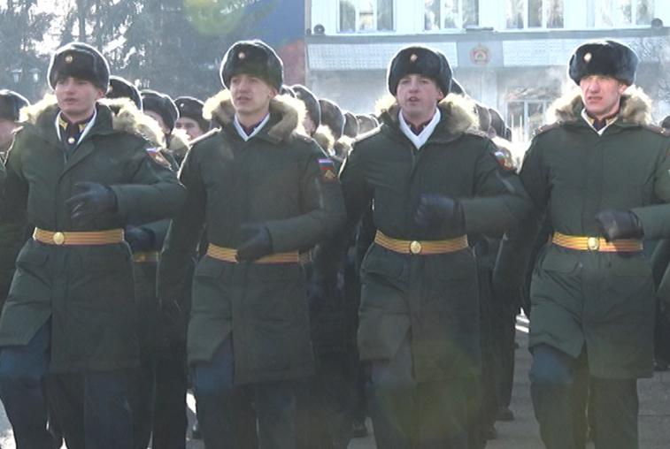 Третий за год выпуск офицеров состоялся в ДВОКУ