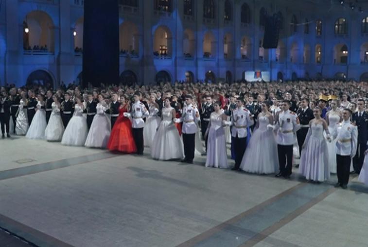 Лучшие благовещенские кадеты вальсировали на Кремлевском балу