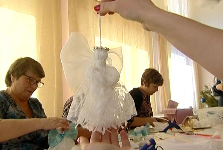 Студия «Рукодельница» ездит с мастер-классами по селам Белогорского района