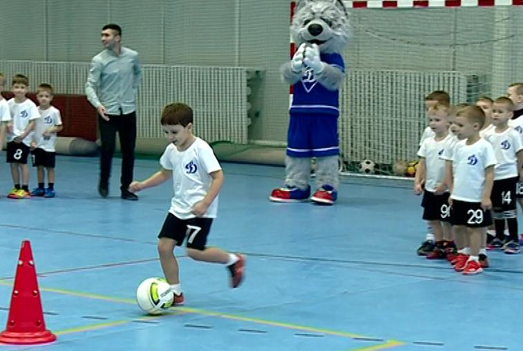 Футбольный праздник «Юный динамовец» провели в Благовещенске