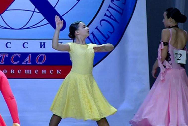 Благовещенские танцоры одержали победу в соревнованиях «Снежный бал»