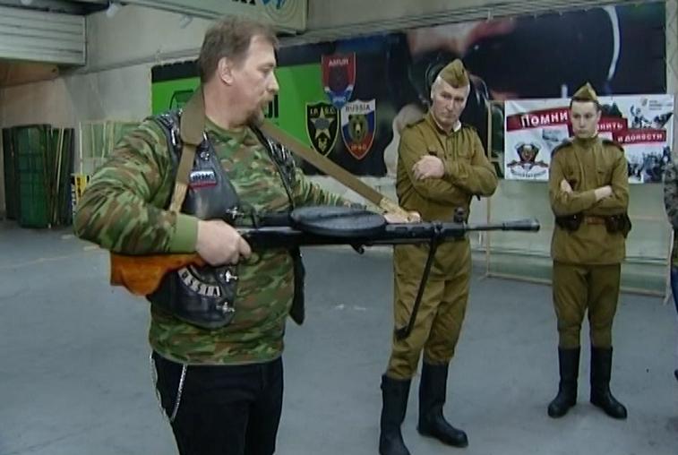 Оружие военных лет демонстрируют амурчанам в рамках патриотического проекта
