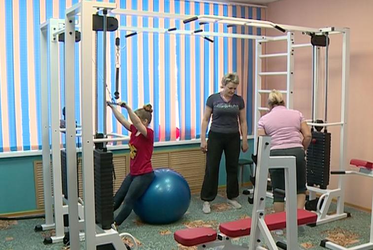 Тренажерный зал для занятий адаптивной физкультурой открылся в Зее