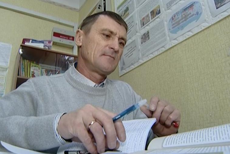 43-летний житель Березовки готовится к сдаче ЕГЭ — 2019