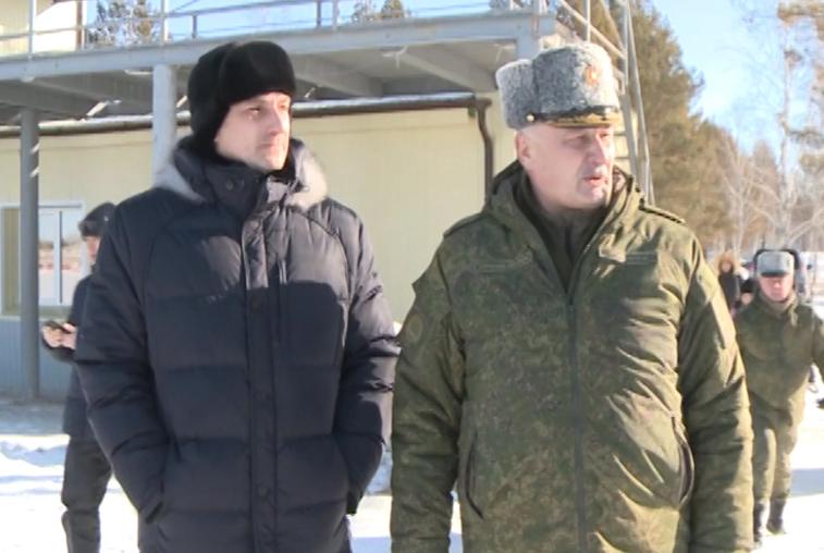 Василий Орлов провел выездное совещание по вопросам открытия парка «Патриот» на полигоне ДВОКУ