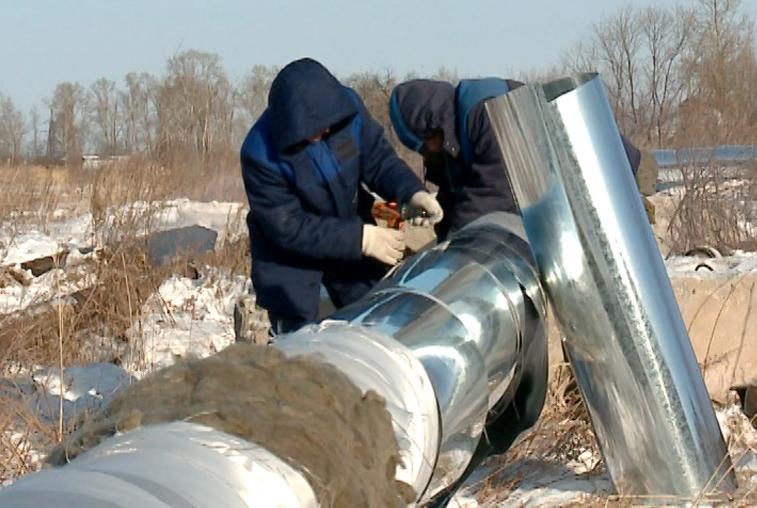 Новый канализационный коллектор заработал в Возжаевке