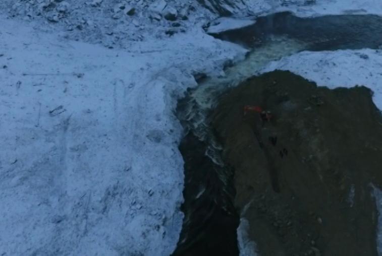 Военные устранили последствия схода оползня в Бурейское водохранилище