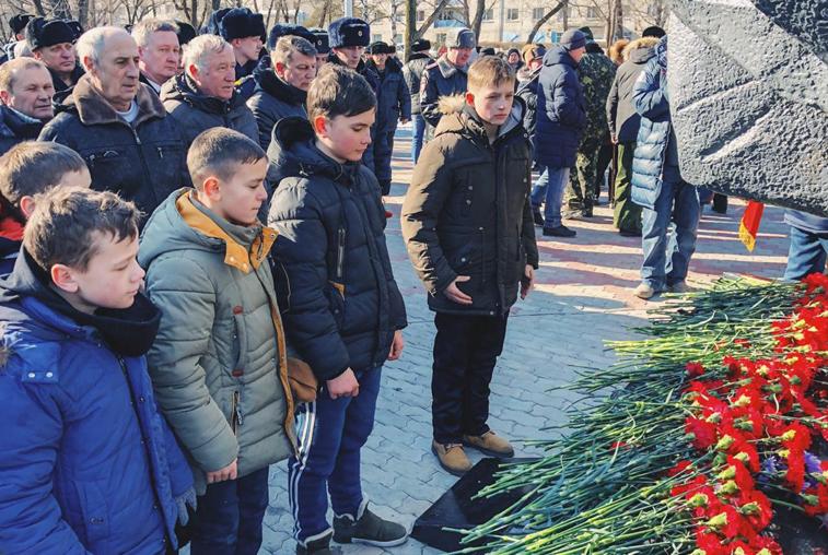30-летие вывода советских войск из Афганистана: амурчане чтят память погибших
