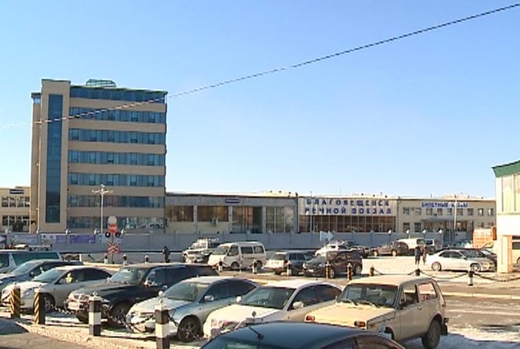 Один из терминалов речного вокзала Благовещенска закрывается на ремонт