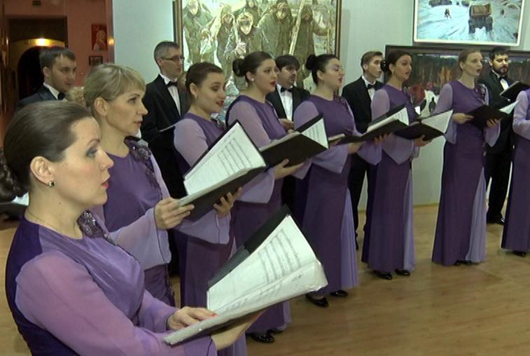 В областном краеведческом музее состоялся концерт капеллы «Возрождение»