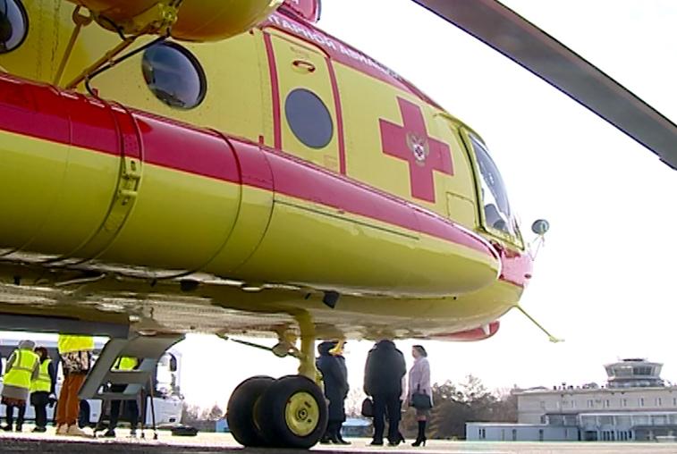 Новый вертолет санавиации заступил на дежурство в Приамурье
