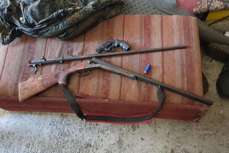 Оружие и боеприпасы изъяли пограничники в Сковородинском районе