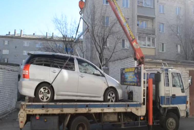Амурчанин лишился автомобиля из-за долгов за электроэнергию