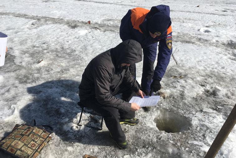 Восемь амурчан оштрафованы в ходе очередного этапа акции «Безопасный лёд»