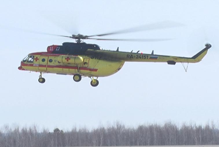 Новый вертолет санавиации совершил уже 16 вылетов к амурчанам