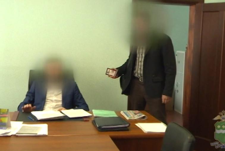 Главу амурского управления Росреестра подозревают в получении взятки